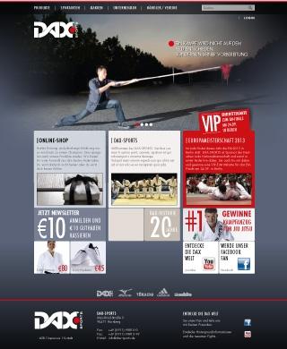DAX Sports Onlineshop