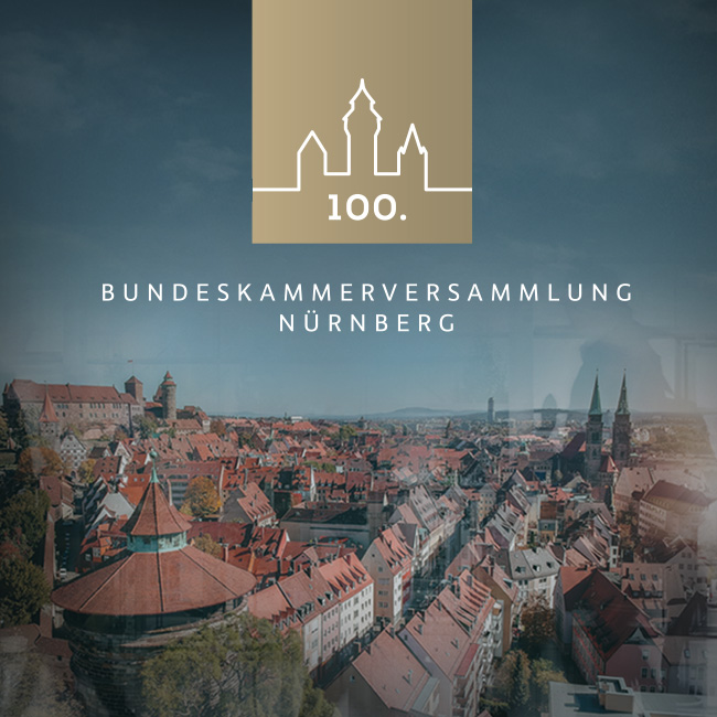100. Bundeskammerversammlung Nürnberg