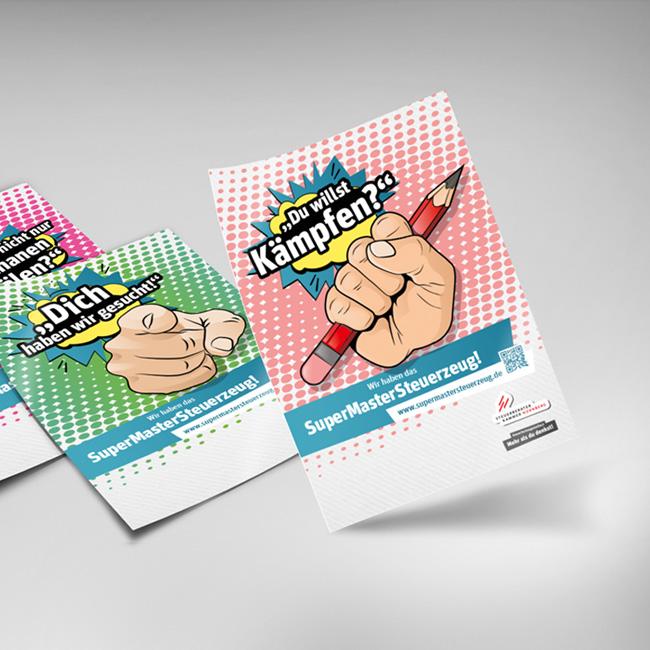 Kampagne SuperMasterSteuerzeug
