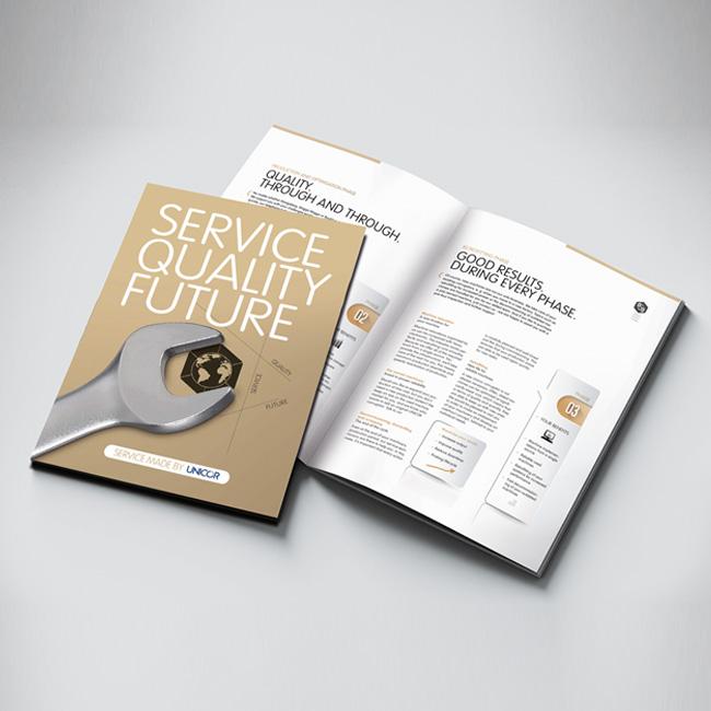 UNICOR Service Broschüre