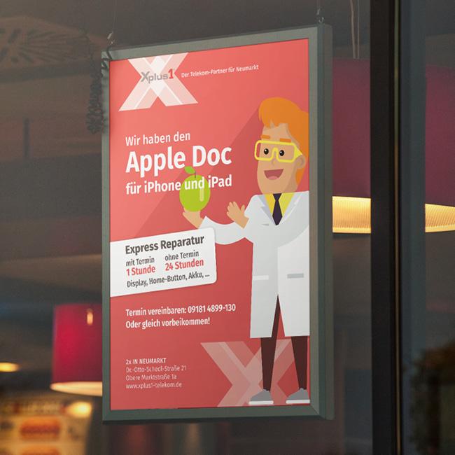 Xplus1 – Apple Schnellreparaturservice
